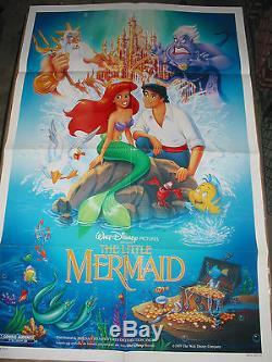 The Little Mermaid / Original U. S. One-sheet Movie Poster (walt Disney)