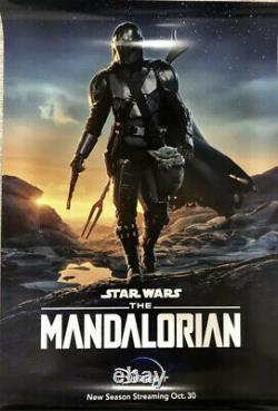 The Mandalorian Season 2 Poster 27x40 Original US Double Sided One Sheet Disney+