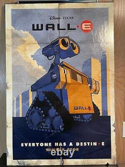 Thick Board Movie Theater Poster Disney Pixar Wall-e Display Poster 40 X 27