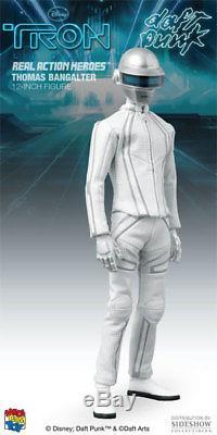 Thomas Bangalter Tron Daft Punk Disney White Suit 12 Figur Medicom RAH