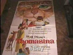 Thomasina 41x81 Movie Poster'64 Disney Vintage Cat