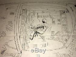 Tron (1982) Jeff Bridges High-contrast Production Art Cel + Overlay Cel + Coa