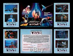 Tron Marler Hayley Movie Poster Set Of 6 Important Disney Computer Animation