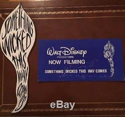 Two Original 1983 Disney Something Wicked This Way Comes Productions Signs