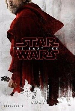 VERY RARE! Profitable Disney Store Force Fridays Set Of 4 The Last Jedi Posters