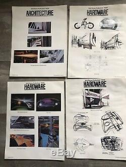 VTG TRON Concept storyboard Architecture Characters Hardware Photos 1981 Disney