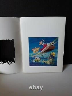 Vintage 1977 Disney movie The Rescuers Press promo info Kit with 10 B&W Photos