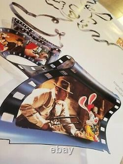 Vintage 1988 DISNEY'S WHO FRAMED ROGER RABBIT One-Sheet Poster HOSKINS LLOYD