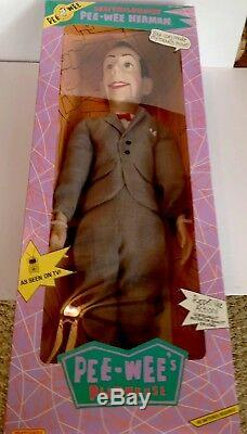 Vintage 1989 26 Pee Wee Herman Ventriloquist doll (Brand New and Sealed)