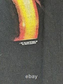 Vintage 1991 Hook T-Shirt Size XL Promo Disney Peter Pan Robin Williams Movie
