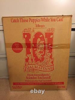Vintage Disney Store Display Large Standee 101 Dalmatians D3786 17 lbs