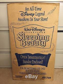 Vintage Disney Store Display Standee Sleeping Beauty B1749