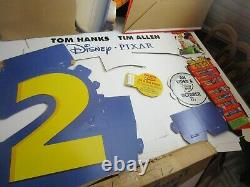 Vintage Disney's TOY STORY 2 ULTRA RARE PROMOTIONAL Standee IN BOX UNUSED