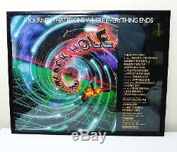 Vintage Original Disney Black Hole Movie 1979 Poster FRAMED 22x28 & StarLog #31