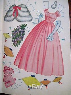 Vintage RARE Disney 1961 Annette In Hawaii Paper Doll withMostly Uncut Clothes