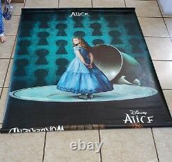 Vinyl Disney Banner Alice in Wonderland Extremely Rare