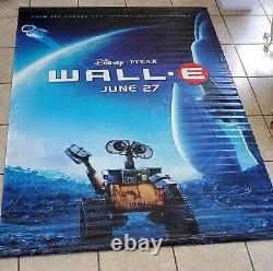 Vinyl Disney Movie Banner Walle Extremely Rare