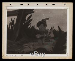 WALT DISNEY'S PINOCCHIO 1939 PRODUCTION USED consecutive 3-PAGE book SEQUENCE