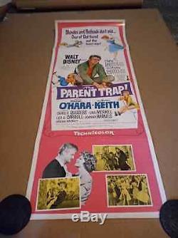 WALT DISNEY'S THE PARENT TRAP 1961 Authentic Theatre Used, S/S US Insert