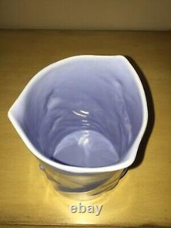 WALT DISNEY Vernon Kilns 1940 FANTASIA Movie Fairy Vase Blue #123 RARE SUPERB