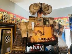 Wall-E Life Size Movie Theater Cardboard Display Pixar Disney Rewards- Rare