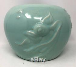 Walt Disney 1940 Fantasia Vernon Kilns Pottery Goldfish Vase Bowl Excellent