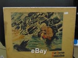 Walt Disney Pinocchio Original 11x14 Lobby Card #L9084