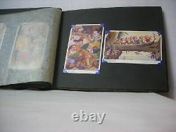 Walt Disney Snow White Original Postcard Album contains 24 cards Valentines