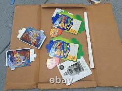 Walt Disney The Great Mouse Detective Vintage Movie Standee Advertising Display