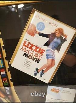 Walt Disney The Lizzie Mcguire Movie Props COA Sign Disney Collectibles