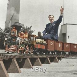 Walt Disney- Train Track Piece Limited #4/50- This was Diane Disney's