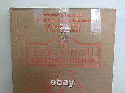 Walt Disney's Lion King II Simba's Pride Vintage Movie Standee Advertis. Display