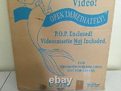 Walt Disney's Little Mermaid Vintage Movie Standee Advertising Display C-3793