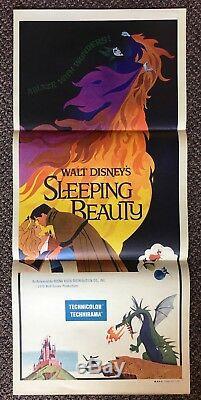 Walt Disney's SLEEPING BEAUTY (1959) Australian Daybill Great Art & Condition