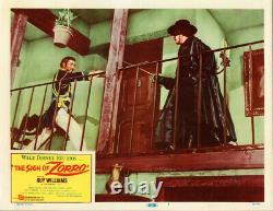 Walt Disney's Sign of Zorro Original Lobby Card 1960 # 1 Guy Williams
