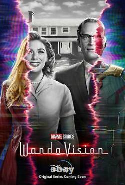 Wanda Vision Teaser Original Double Sided 27x40 Movie Poster direct from Disney