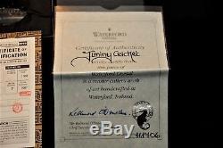 Waterford Disneyana Disney Jiminy Cricket Signed Rare 1999 NWithBox COA 36/1000