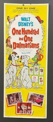 101 Dalmations Affiche De Cinéma Originale Insert Walt Disney Hollywood Affiches