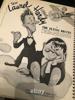 1939 Vtg Rko Radio Photos Annuaire Hollywood Film Souvenirs Hunchback Disney
