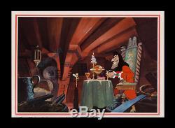 1952 Peter Pan A Roulé L'affiche De Film De 1-sh De Disney Transit Advance Seulement Connu Connu