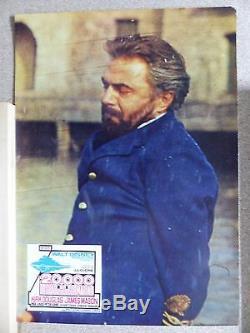 20 000 Lieues Sous Les Mers Kirk Douglas James Mason Ensemble Pour Le Hall D'entrée Espagne 1976