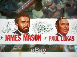 20 000 Ligues Sous L'affiche Mer Sea Walt Disney Kirk Douglas James Mason