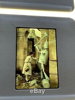 20 Diapositives 35 MM De Retour Dans Le Film Oz 1985, Lot N ° 3 Des Promotions De Walt Disney Press