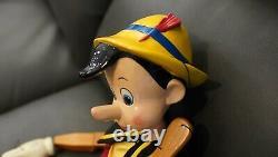 2007 Walt Disney Pinocchio Marionette Par Master Replicas (parties Ou Réparations)