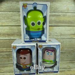3 Toy Story 4 Seaux De Pop-corn Disney Pixar Cinepolis Poks Woody Buzz Alien