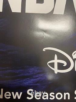 Affiche De Cinéma Disney Plus The Mandalorian 27x40 Double Face Ds Authentic 3a