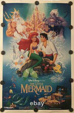 Affiche De Cinéma Originale 27x41 Ds/rolled Walt Disney 1989