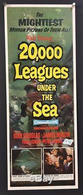 Affiche De Film De 20 000 Lieues Sous La Mer Affiche De 1954 De Disney Hollywood
