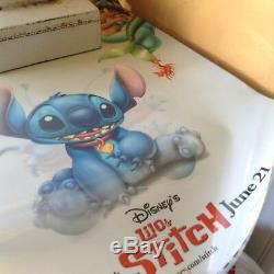 Affiche De Film Lenticulaire 3d De Lilo Et Stitch 3d 27x40 Disney, Rare En Plastique Dur