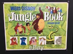 Affiche De Film Originale Du Livre De La Jungle, 1967